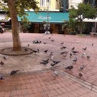 Photo taken at Athonos Square by Christos S. on 9/18/2014