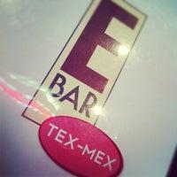 รูปภาพถ่ายที่ E Bar Tex-Mex โดย Eric G. เมื่อ 11/21/2012