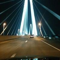 Photo taken at Stan Musial Veterans Memorial Bridge by Dave W. on 3/29/2014