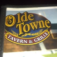 Photo taken at Olde Town Tavern & Grille by Nathan L. on 9/15/2012