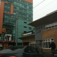 Снимок сделан в McDonald's пользователем Yulia B. 10/9/2012