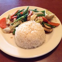 Photo taken at Talay Thai Restaurant by Tyler S. on 4/14/2014