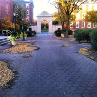 Photo taken at MacMillan Hall by Taylor W. on 10/23/2012