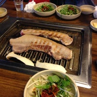 Photo taken at 새섬갈비 by 민영 한. on 9/26/2014