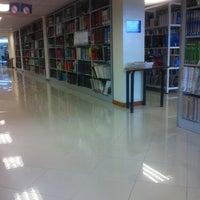 Photo taken at UTPL - Biblioteca by Andrea Victoria V. on 3/17/2014