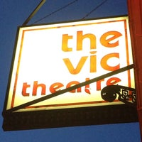 Photo taken at The Vic Theatre by Tom O. on 5/19/2013