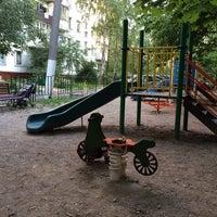 Photo taken at Детская площадка с великом by Catherine L. on 7/31/2014