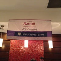 Photo taken at Albany Marriott by Reggie R. on 8/16/2013