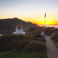 Photo taken at Trinidad Memorial Lighthouse by Scott H. on 3/5/2015