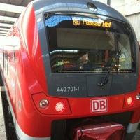 Photo taken at RE München - Passau by Dorin P. on 12/26/2012