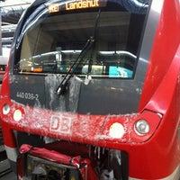 Photo taken at RE München - Passau by Dorin P. on 1/18/2013
