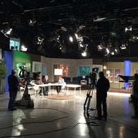 Photo taken at WIPR-TV Canal 6 by José C. on 8/8/2016