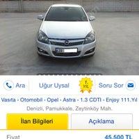 Photo taken at Uysal Otomotiv & Emlak by Uğur U. on 1/6/2016