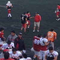 Photo taken at Estadio JOM UVM by Val P. on 5/24/2014