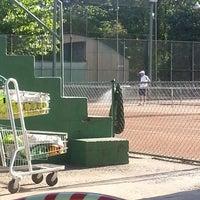 Photo taken at Quadras De Tenis Do Bela by Renata Piva on 11/8/2013