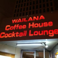Photo taken at Wailana Coffee House by Al on 6/24/2013