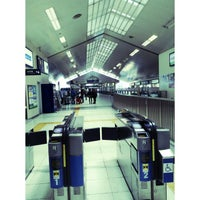 Photo taken at Shin-Sugita Station by Oshelle L. on 4/27/2013