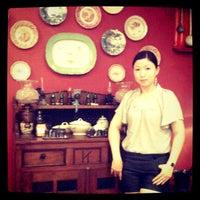 Photo taken at Bumbu Moyang by jacklyn g. on 4/18/2012