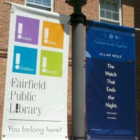 Photo taken at Fairfield Public Library by E.B. C. on 5/13/2012