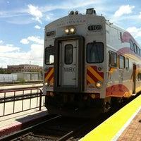 Photo taken at Rail Runner: Los Ranchos/Journal Center by Mayumi N. on 7/28/2012