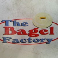 Photo taken at The Bagel Factory by Marcelo C. on 8/15/2012