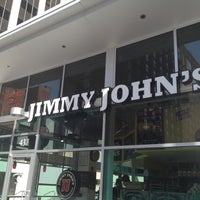 Photo taken at Jimmy John's by Adam B. on 3/19/2012