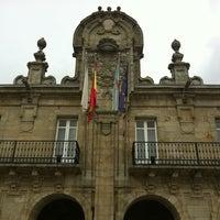 Foto tirada no(a) Concello de Lugo por Alberto E. em 4/4/2012
