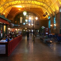 Photo taken at Gare du Palais by Carlos A. on 9/18/2012