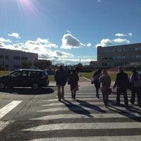Photo taken at Universidad Rey Juan Carlos (Campus Fuenlabrada) by Hernan J. on 2/2/2013