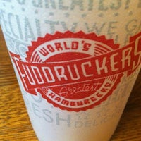 Photo taken at Fuddruckers by Jorge P. on 1/4/2013