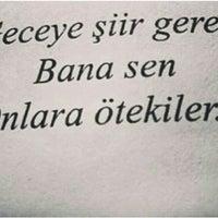 Photo taken at Sensizlik Beni Böyle Yensin Mi ? by ❤✌Tslm ❤✌ Y. on 6/8/2015