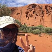 Photo taken at Uluru by Kimberly S. on 3/10/2017