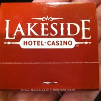 Photo taken at Lakeside Hotel & Casino by Jessica C. on 3/30/2013