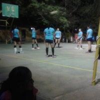 Photo taken at Unidad deportiva Ocotlán de Morelos by Quetzalli Q. on 4/6/2014