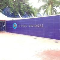 Photo taken at Acuario Nacional by Tafuin on 8/28/2013