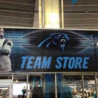 Photo taken at Carolina Panthers Team Store by Travis C. on 12/8/2012