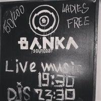 Снимок сделан в Soundbar Banka пользователем Rubea S. 9/7/2014