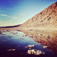 Photo taken at Badwater Basin by Reyn H. on 11/5/2012