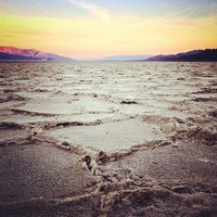 Photo taken at Badwater Basin by Reyn H. on 11/9/2012