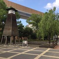 Photo taken at Fukagawa Library by ふわふわ on 7/18/2016