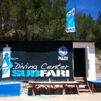 Foto tomada en Subfari Diving Center por Curro C. el 4/29/2014