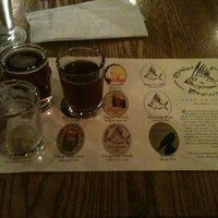 Photo taken at Rooster Fish Brewing Tasting Room and Beer Garden by Caitlin K. on 11/2/2012