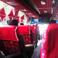 Photo taken at Terminal Lebak Bulus by Putu D. on 5/18/2013