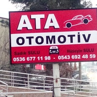 Photo taken at Ata Otomotiv & Galeri by Hüseyin S. on 2/14/2015