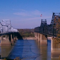 Photo taken at The Mighty Mississippi River by Christina B. on 11/18/2012