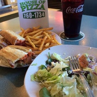 Photo taken at Charleston House of Pizza by Megan H. on 4/15/2014