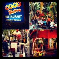 Photo taken at Coco Bistro by Dave B on 5/8/2013
