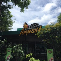 Photo taken at Cafe Amazon | PTT หนองหาน by Yasu on 8/15/2016