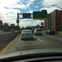 Photo taken at Brooklyn/Queens Expressway (BQE) by Mike W. on 4/12/2012