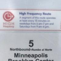 Photo taken at Metro Transit Route 5 by Goran G. on 3/9/2018